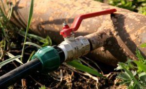 незаконное подключение к сетям водоснабжения