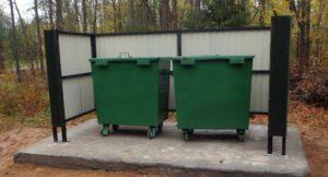 установка и вывоз мусорных контейнеров
